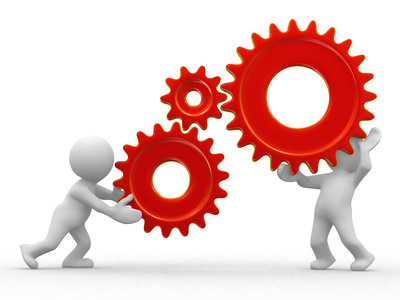 Knowledge clipart technical skill In humans 3d gears two