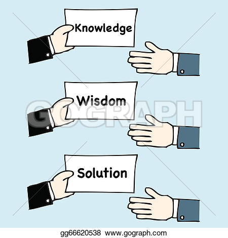 Knowledge clipart wisdom Vector and wisdom Drawing giving