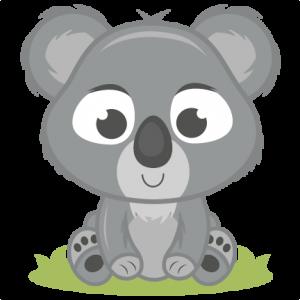 Koala Bear clipart Files Scrapbooking IllustrationsBear Kate Digital
