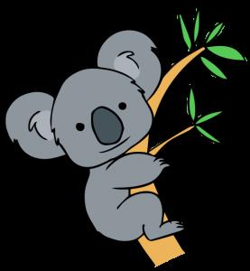 Koala Bear clipart Art/borders Best Free Pinterest art