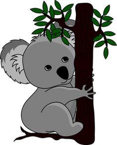 Koala Bear clipart Art Koala Branch Baby Cute