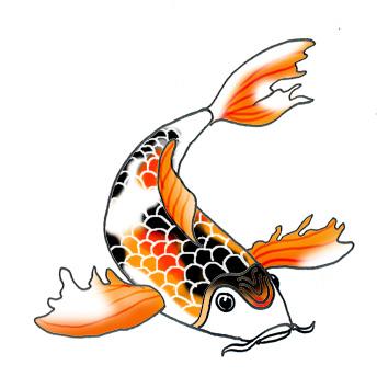 Koi Carp clipart Clipart Koi Koi Fish clipart