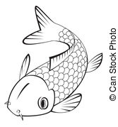 Carp clipart And EPS of koi fish