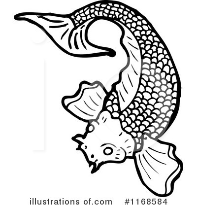 Koi Carp clipart Lineartestpilot Illustration #1168584 Royalty Koi