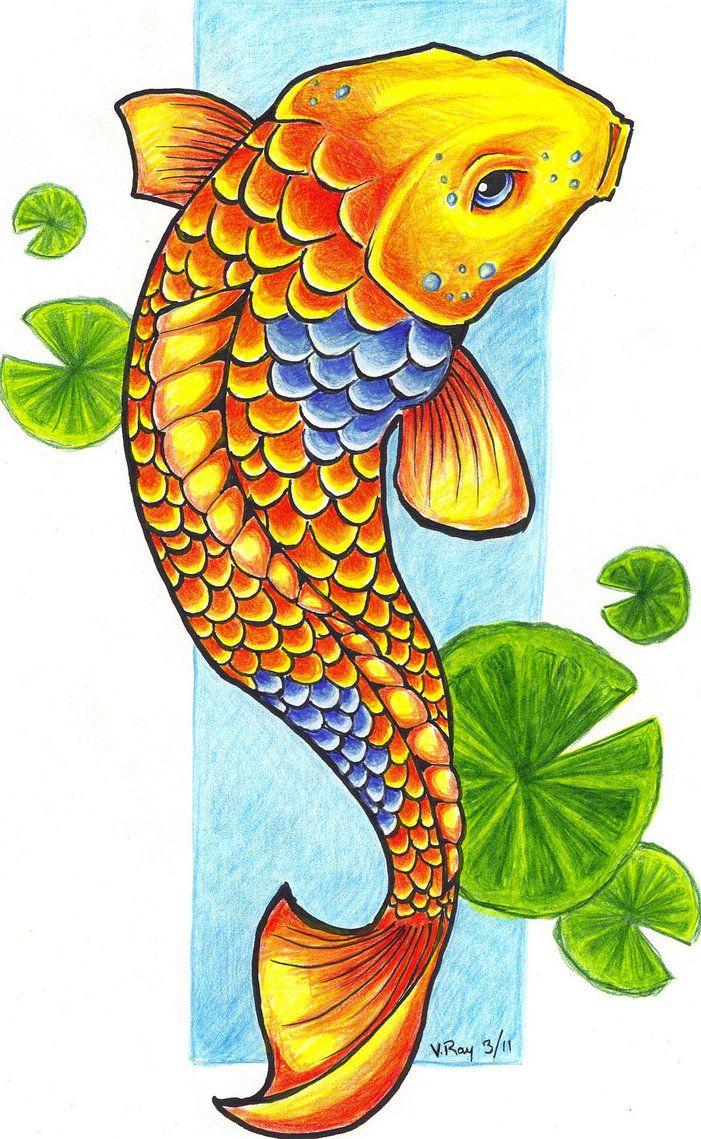 Koi Fish clipart Koi Koi Clipart Savoronmorehead Fish