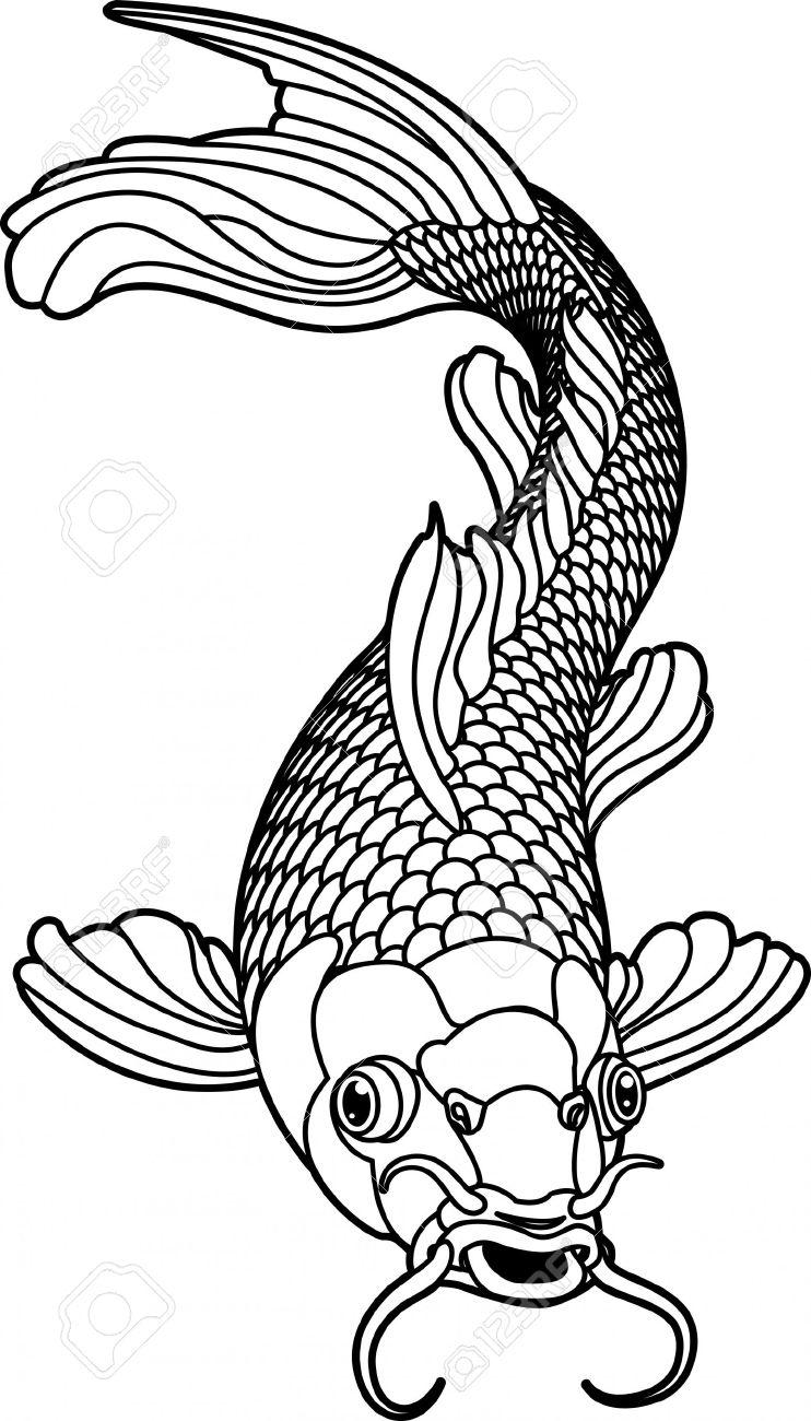 Koi Carp clipart 4432155 fish koi 4432155 a