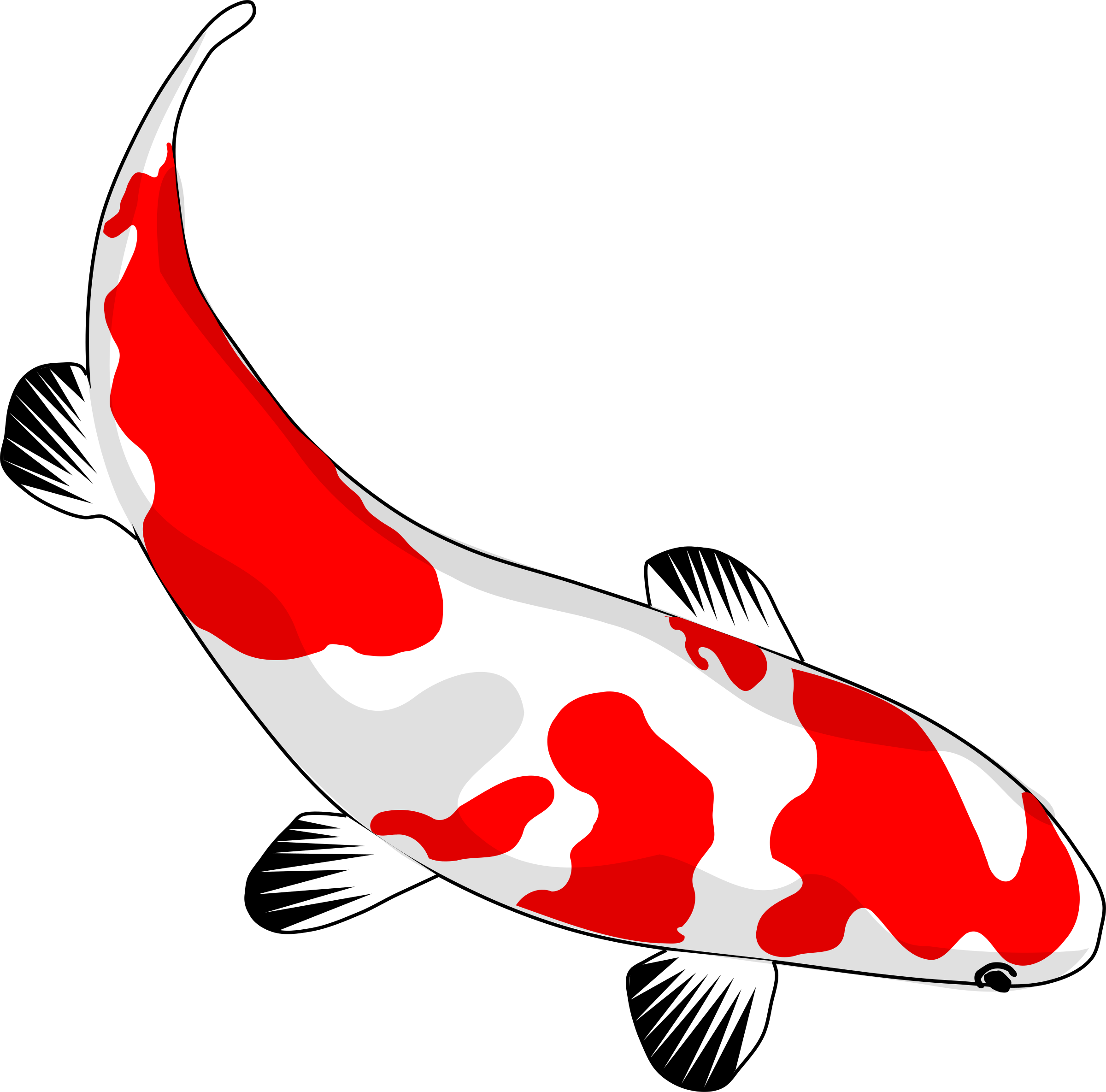 Koi clipart Inspiration Clipart Free Red Clipart