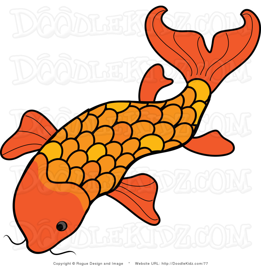 Koi clipart Fish designs Royalty Fish Clipart