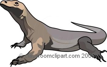 Komodo Dragon clipart Clipart Images Art Komodo Clip