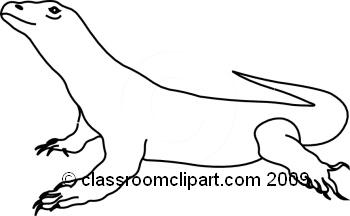 Komodo Dragon clipart Art Dragon clip #9 Clipart