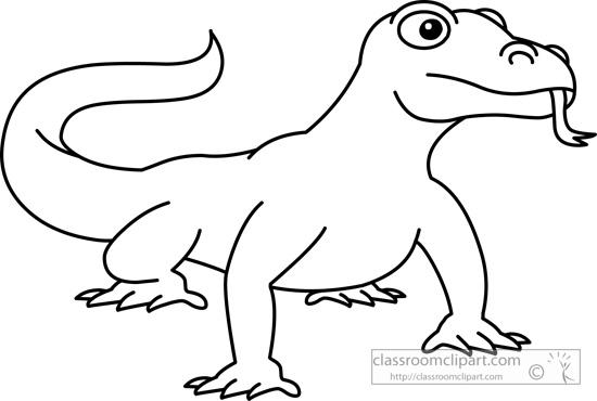 Muskox clipart outline Dragon art art 61 clip