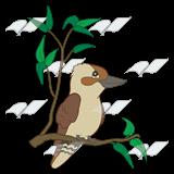 Kookaburra clipart Kookaburra a Abeka Kookaburra branch