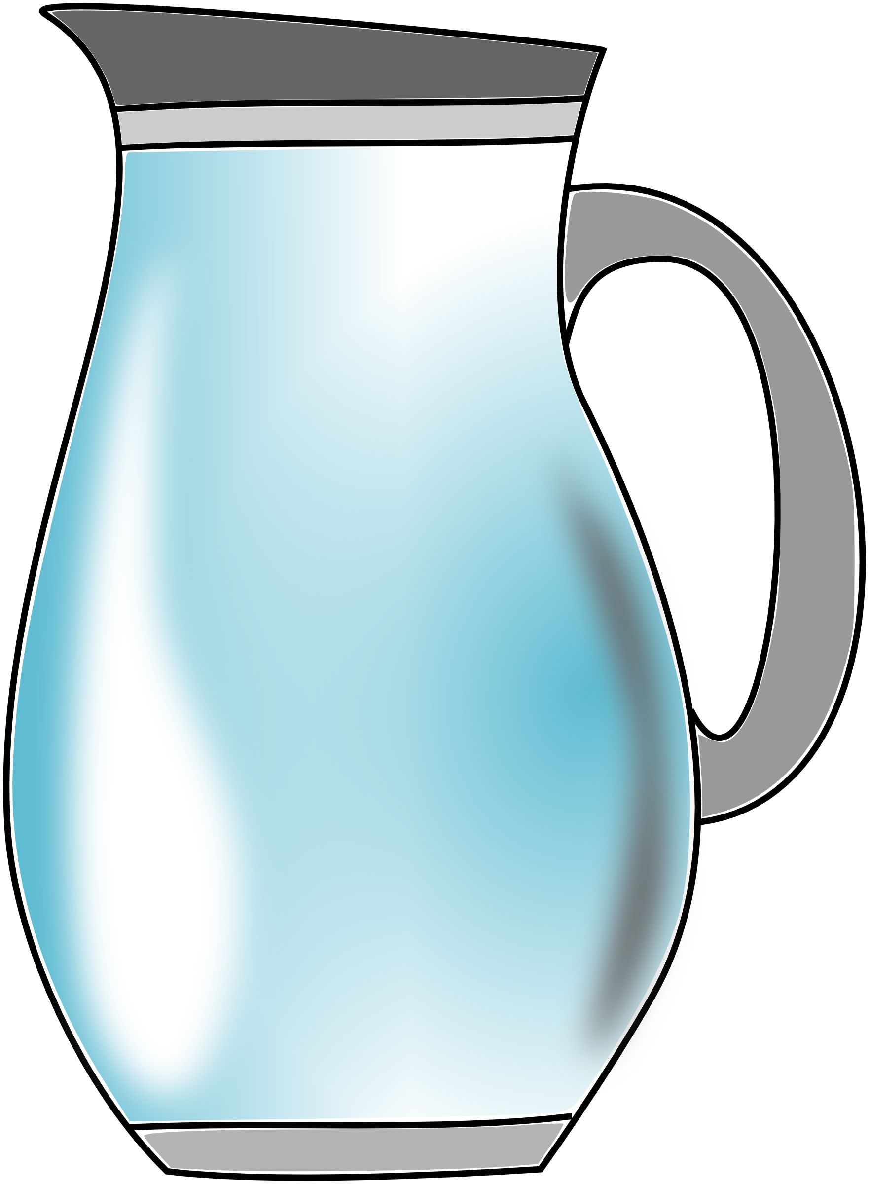 Blue Water clipart jug water Water Art Clip Art Library