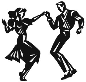 Danse clipart rock n roll Clip Roll Rock Dance 50s