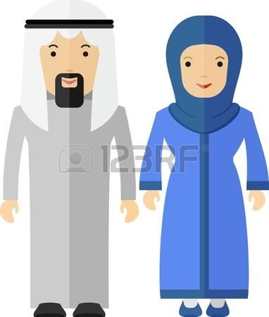 Kopel clipart arabic Couple: Arabic Free Collection Arabian