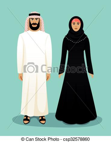 Arabian clipart arabic man #4