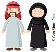 Kopel clipart arabic Man and Vectors Man and