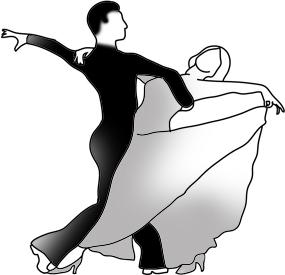 K.o.p.e.l. clipart ballroom dancing Dancing #dance Silhouettes ballroom dancing