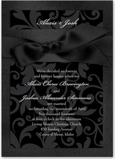 K.o.p.e.l. clipart black tie Cool black // affair Invitation