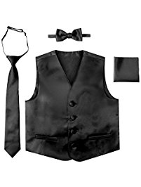 K.o.p.e.l. clipart black tie Toddler and Formal Vest Set