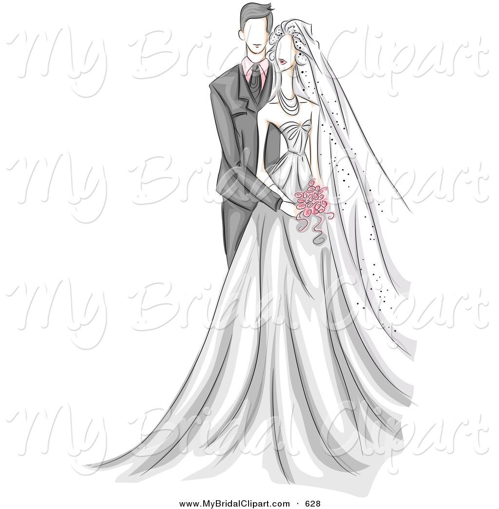K.o.p.e.l. clipart bride Behind White of Bridal Wedding