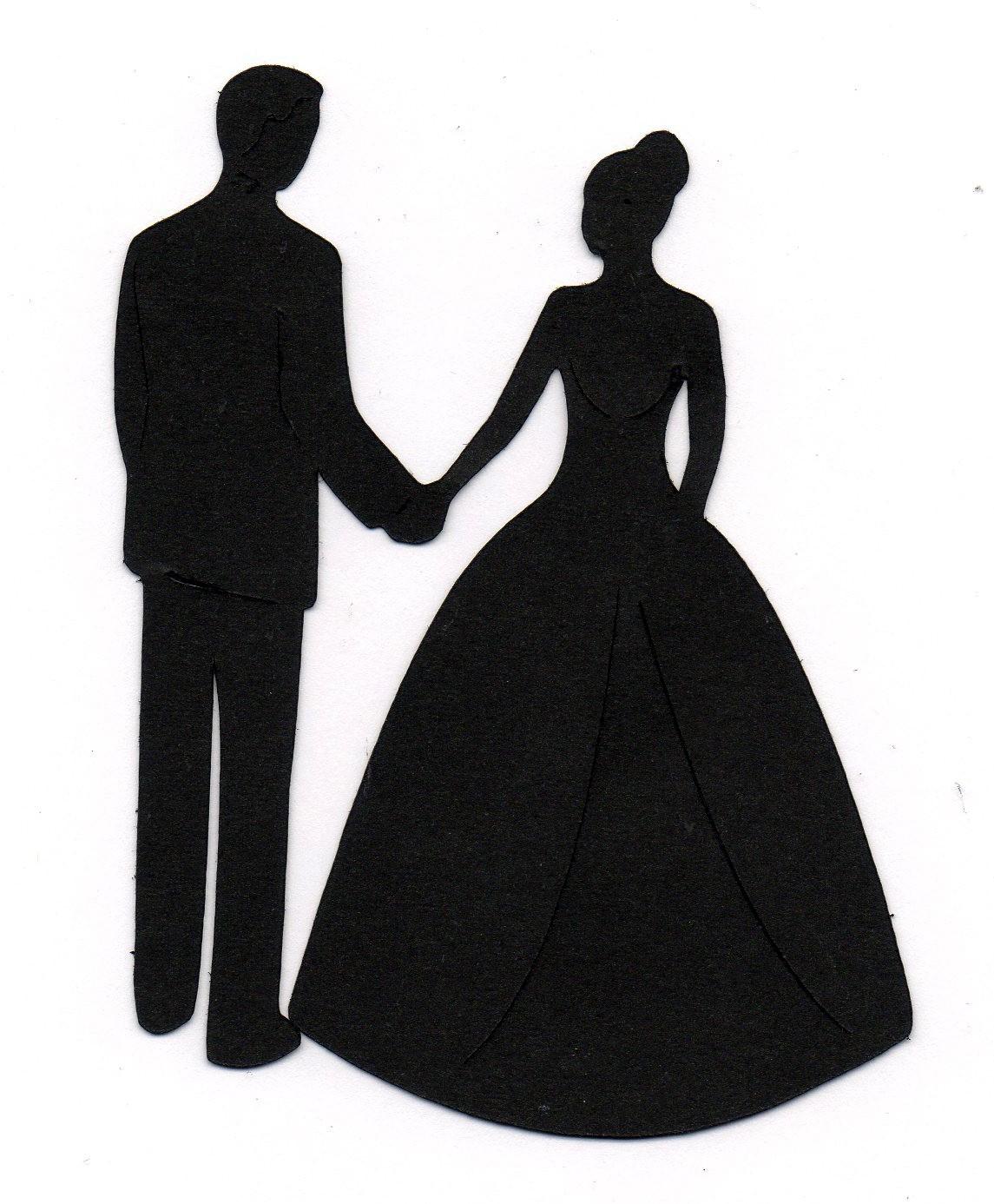 K.o.p.e.l. clipart bride And groom and white bride