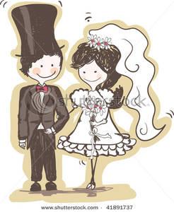K.o.p.e.l. clipart bride Bride Image: Groom Bride Art