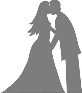 K.o.p.e.l. clipart bride Bride at Silhouette Clipart Clipart