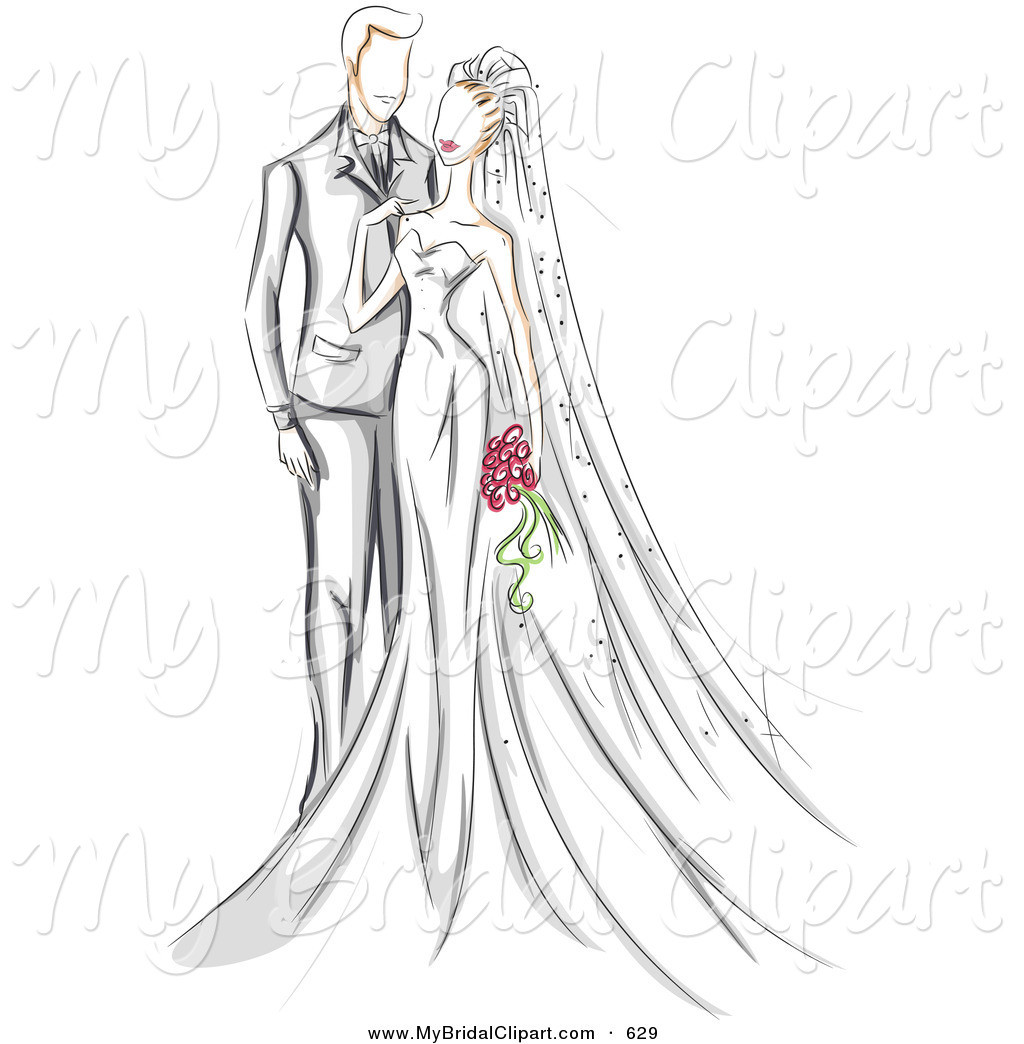 Zombie clipart bride and groom Her Touching Bridal Wedding and