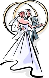 Wedding clipart color Wedding And ClipArt Clipart Wedding