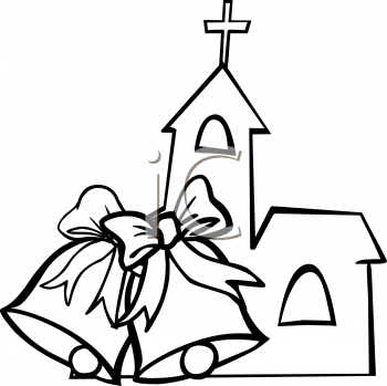 Wedding clipart church Religious wedding wedding Christian Free