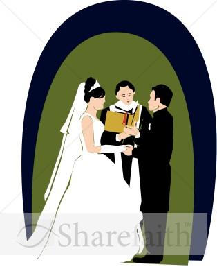 Kopel clipart church wedding Day Clipart Wedding Christian Vows