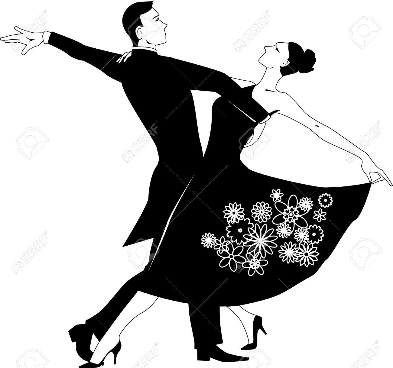 K.o.p.e.l. clipart dancing Collection couple Vector clipart Clip