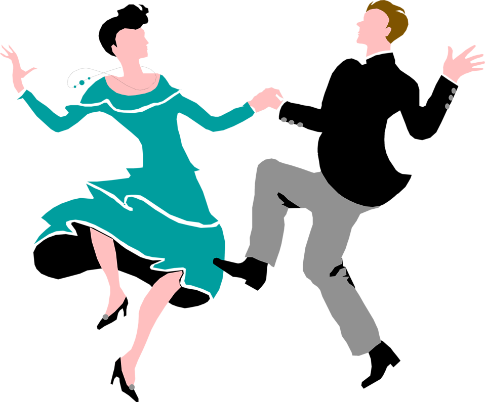 Couple clipart transparent Illustration a Couple Photo Dancing