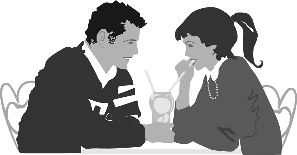 Date clipart dinner date Of Dinner a a on