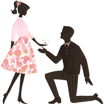 Kopel clipart engagement Art wedding Engagement (46+) proposal