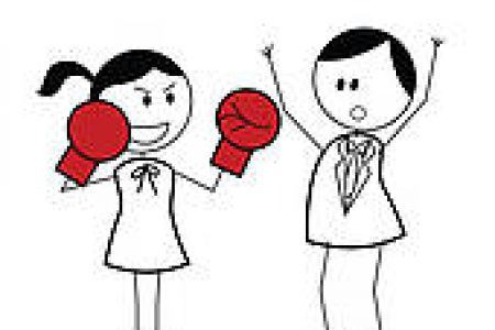 Kopel clipart fighting Couple art free gograph clip