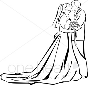 Bride clipart wedding ceremony #10