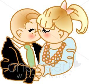 Kopel clipart first kiss Couple Clipart First Clipart Wedding