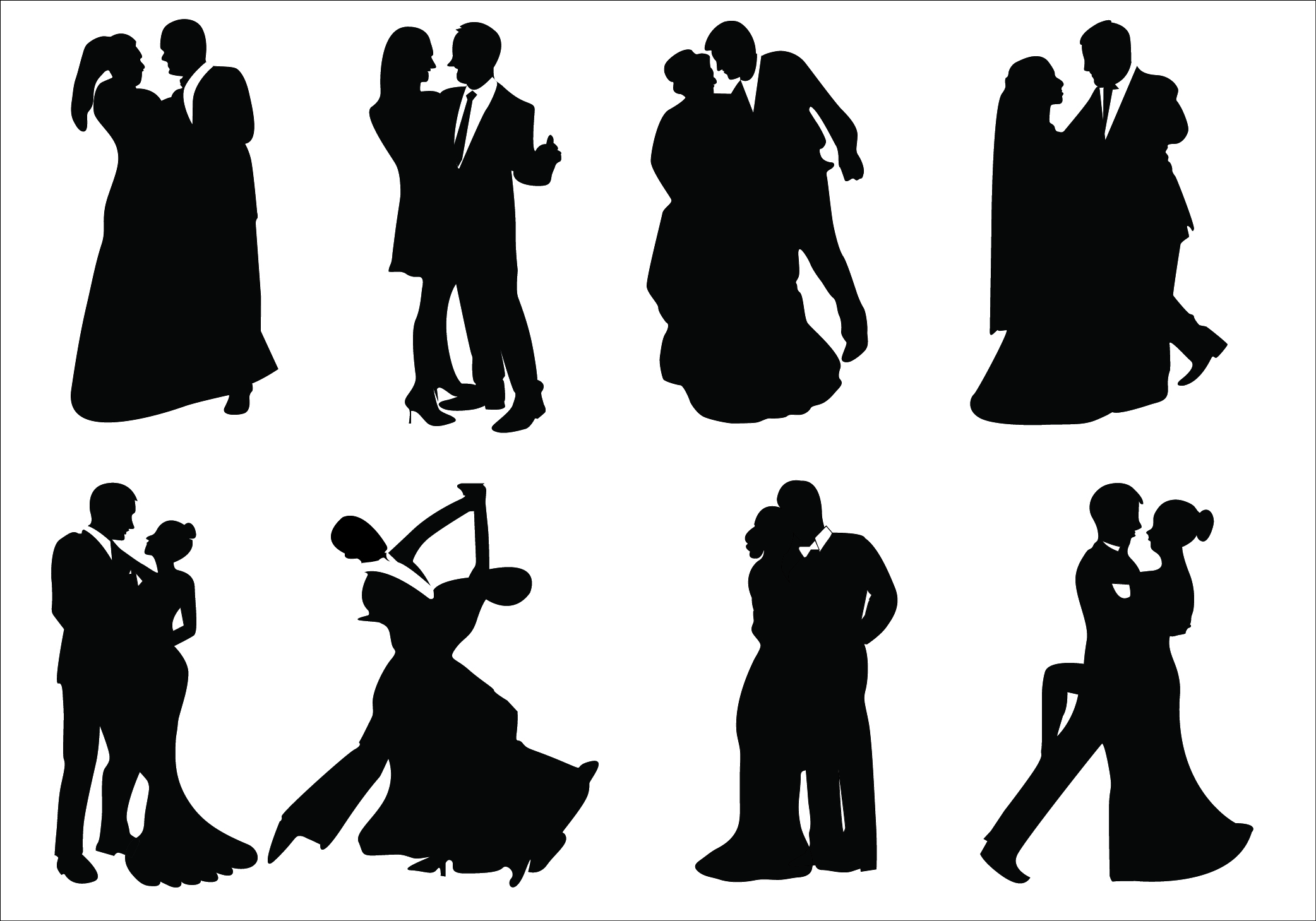 Shadow clipart prom #6