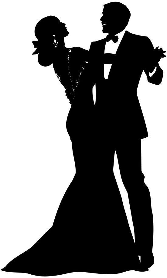 K.o.p.e.l. clipart formal Dancing  clipart clipart silhouette_550