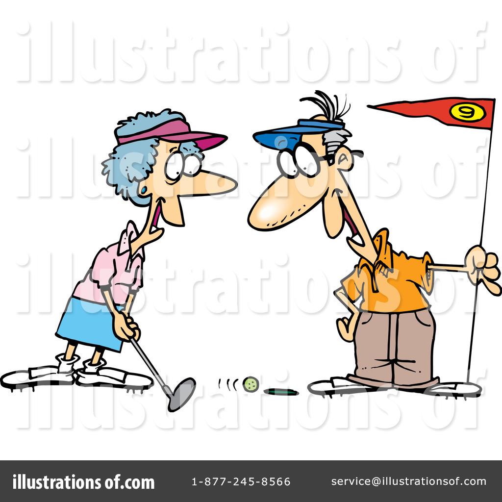 Kopel clipart golf Golfing Illustration Ron Ron Clipart