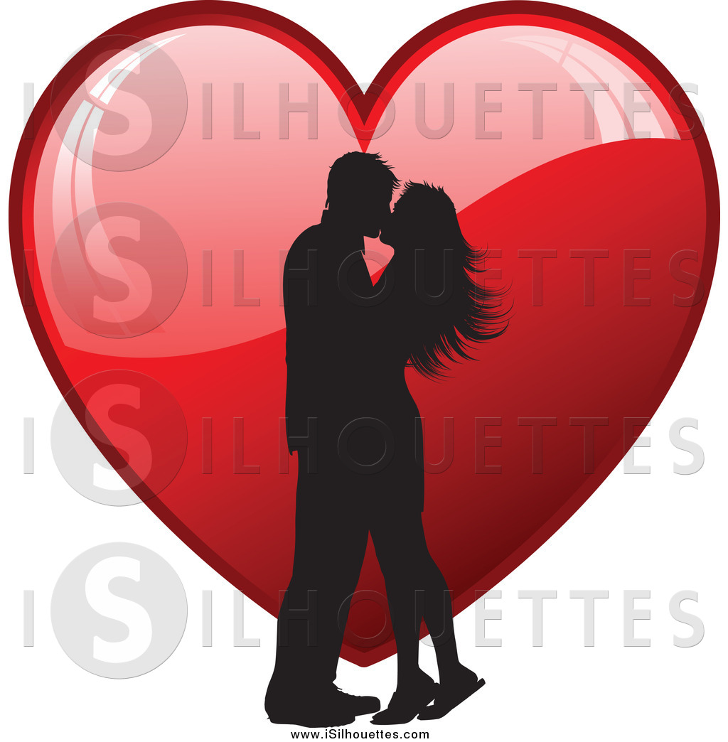 Couple clipart heart Red Red of Couple a