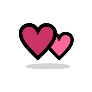 K.o.p.e.l. clipart heart Heart Background Couple Download Heart