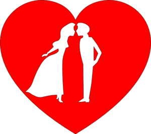 Kisses clipart heart At Kissing Clip With With