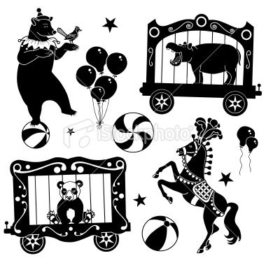 K.o.p.e.l. clipart human shadow Circus about Illustration 261 animals