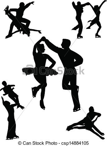 Kopel clipart ice skating Skating Couples ice of Clipart
