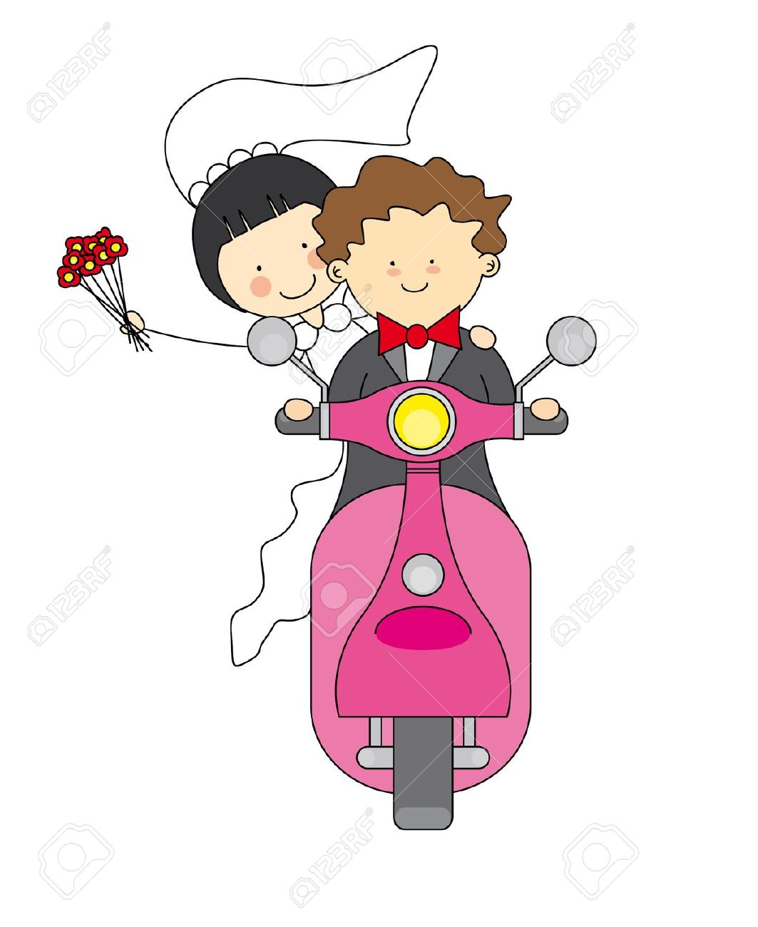 Kopel clipart just married Couple images Pinterest Clipart Couple