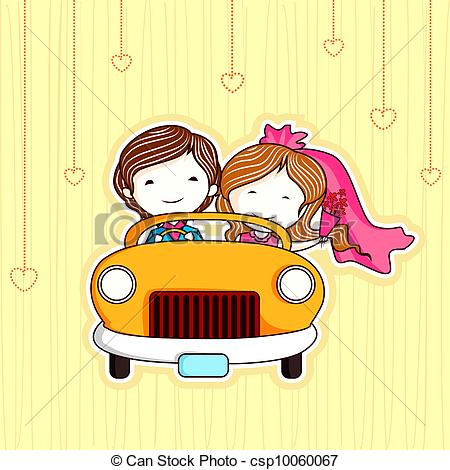Kopel clipart just married Couple Clip just csp10060067 of