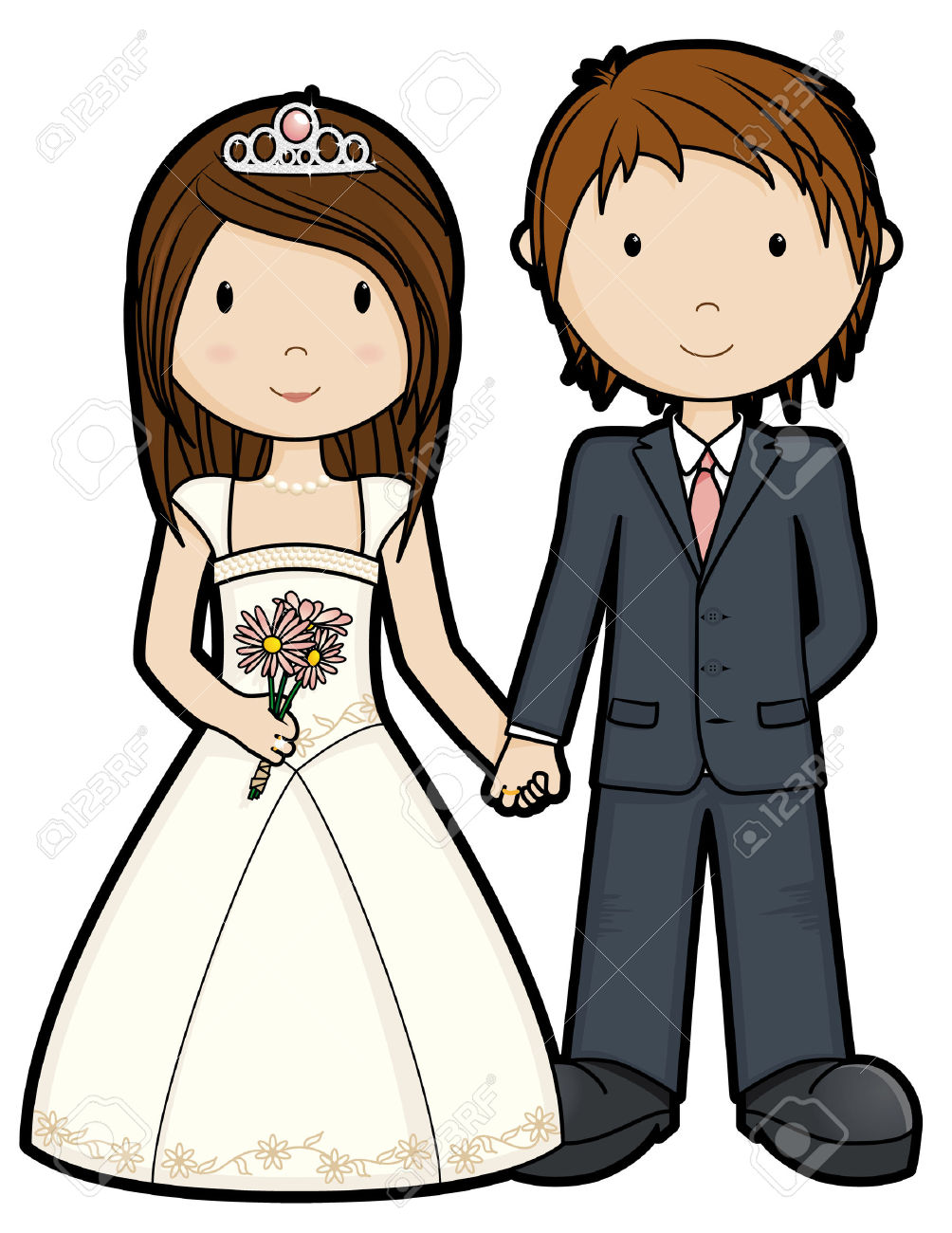 Kopel clipart just married Isolated Free Free Vectors Royalty
